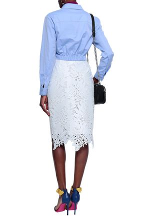 MSGM Lace pencil skirt
