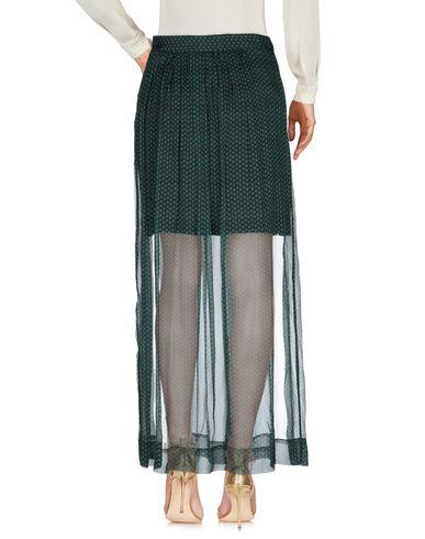 Фото 2 - Длинная юбка от MARGAUX LONNBERG зеленого цвета