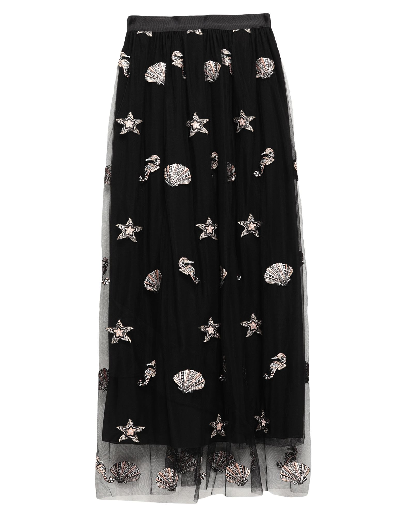 SPACE SIMONA CORSELLINI Длинная юбка space simona corsellini юбка до колена