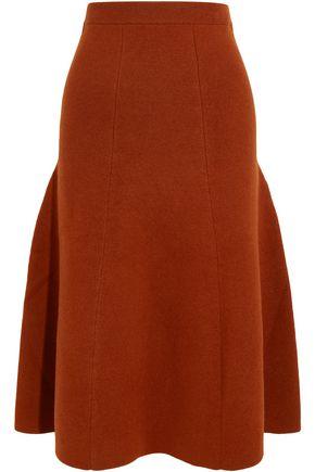 JOSEPH Wool-blend midi skirt