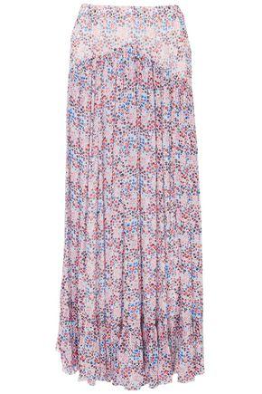 PHILOSOPHY di LORENZO SERAFINI Floral-print georgette maxi skirt