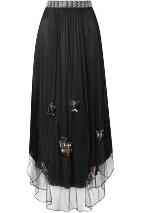 BY MALENE BIRGER Beverly embellished tulle maxi skirt