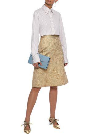 REDValentino Brocade skirt