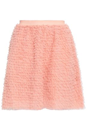 REDValentino Tiered tulle mini skirt