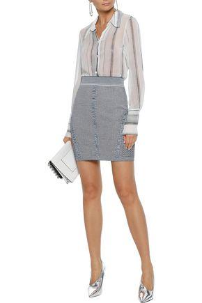 BALMAIN Knitted mini skirt