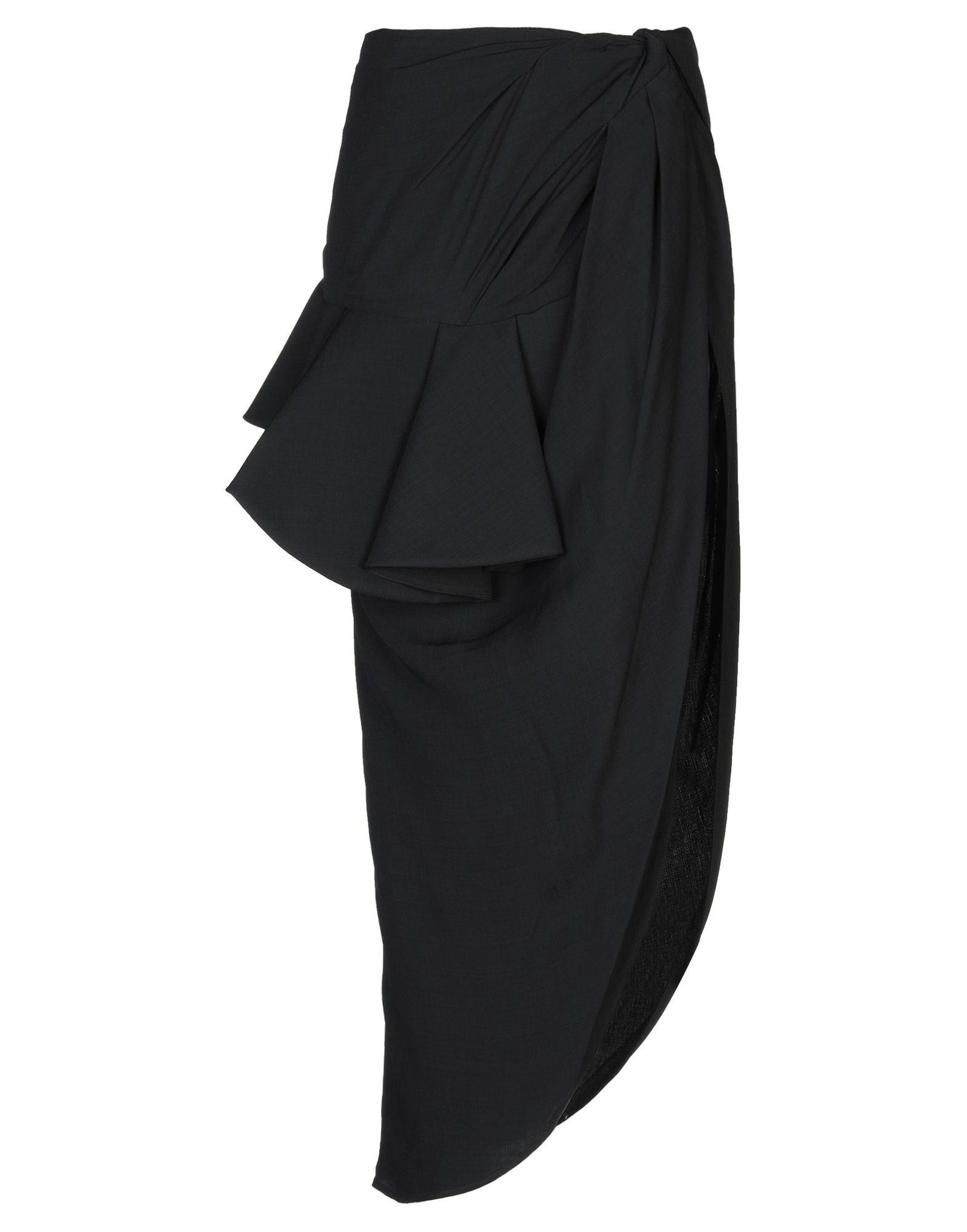 JACQUEMUS Длинная юбка jacquemus пальто