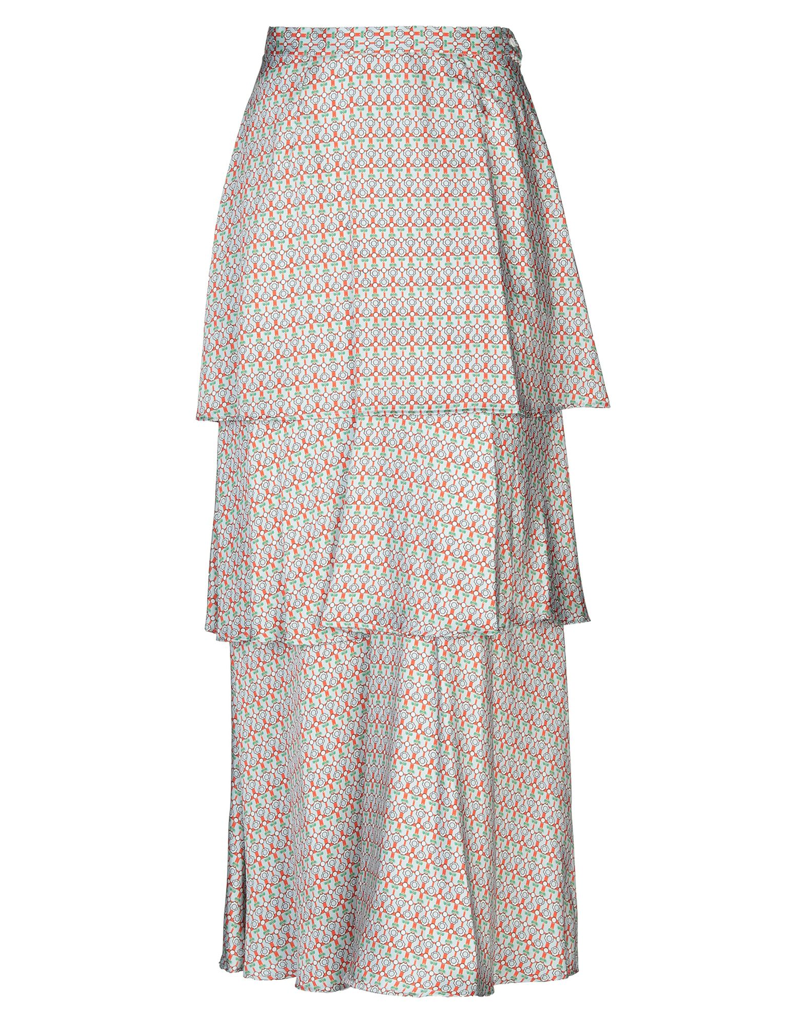 DONDUP Длинная юбка dondup длинная юбка