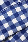 SILVIA TCHERASSI Gingham cotton-blend skirt
