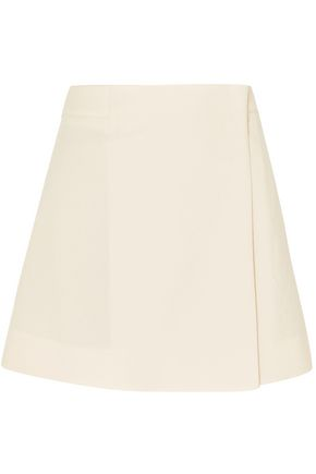 JOSEPH Wool and cotton wrap skirt