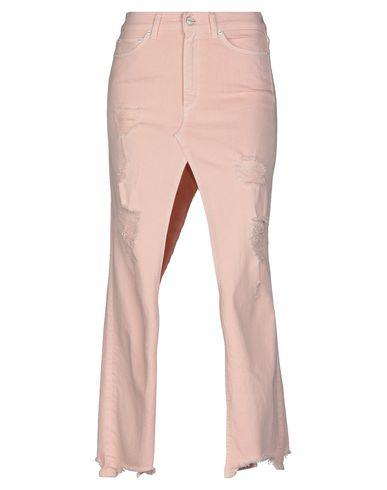 Купить Джинсовая юбка светло-розового цвета
