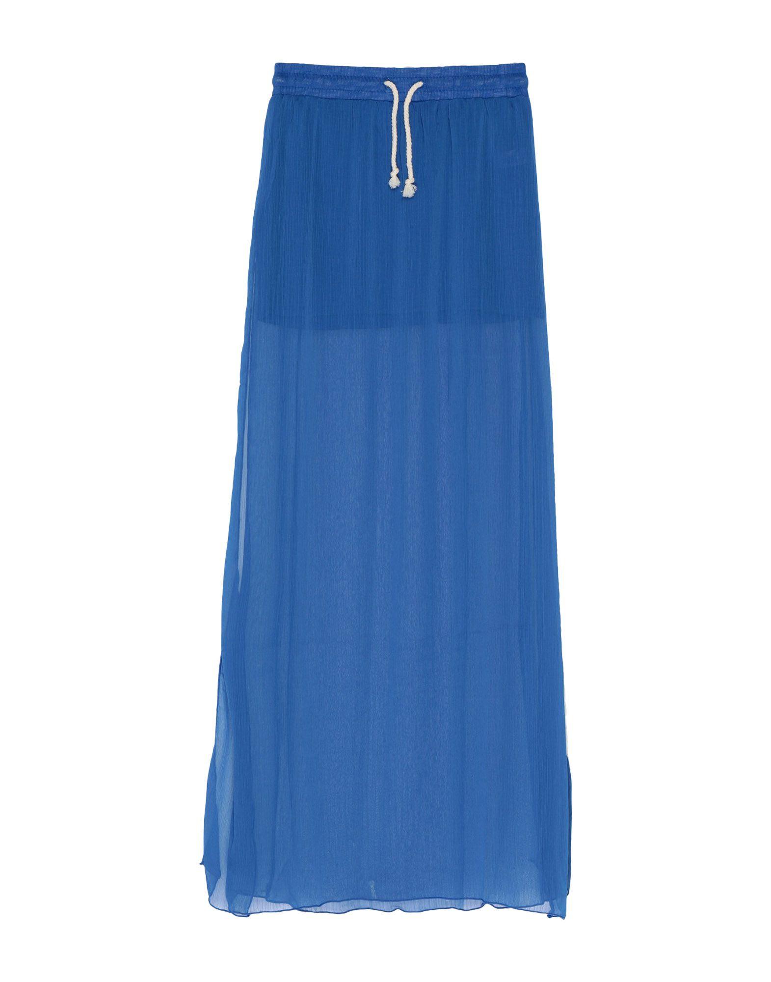 《セール開催中》F*K PROJECT レディース ロングスカート ブルー S ポリエステル 100%