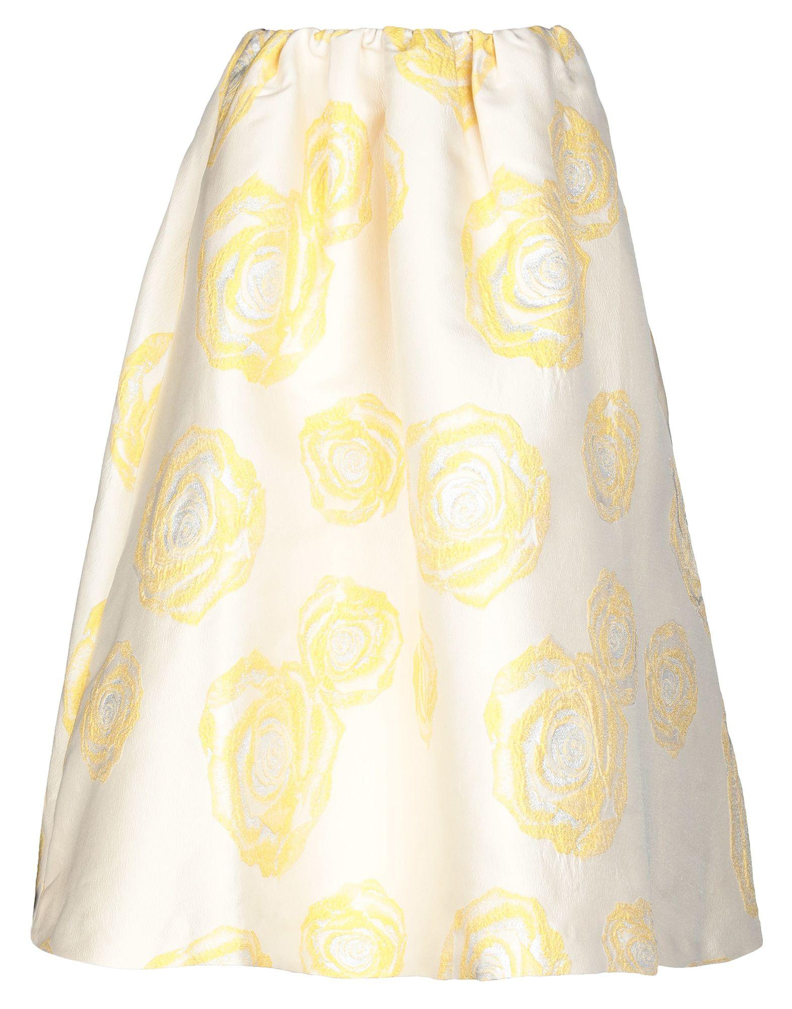 GANNI Юбка длиной 3/4 ganni мини юбка