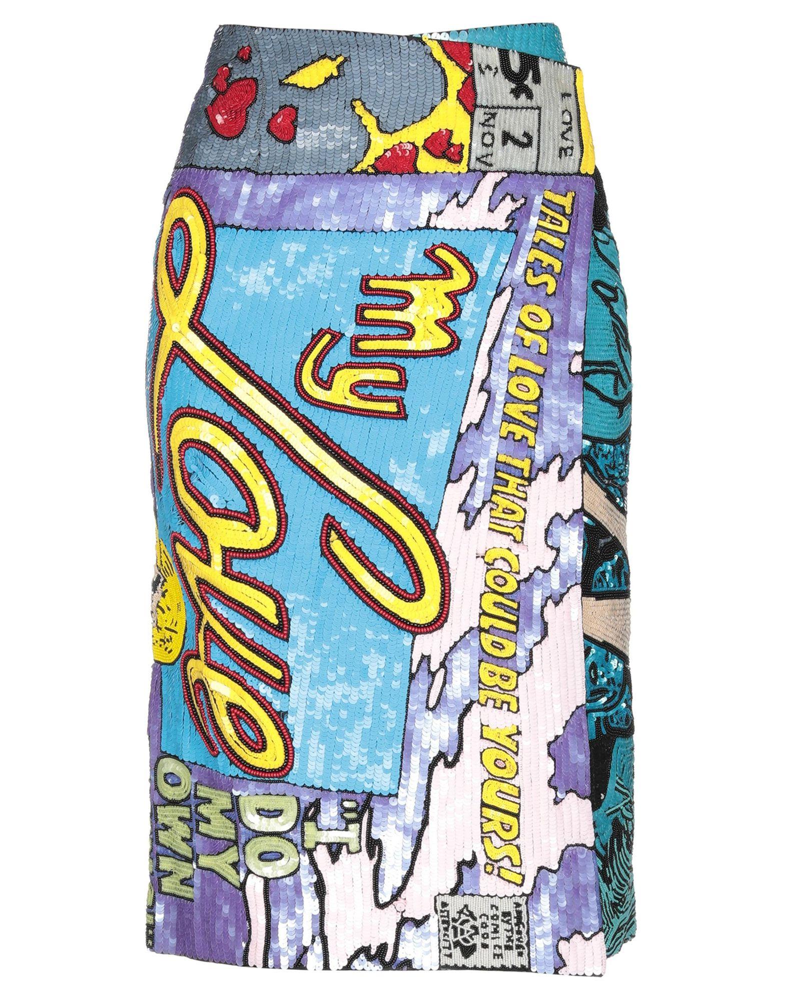 OLYMPIA LE-TAN Юбка длиной 3/4 olympia le tan хлопковые шорты