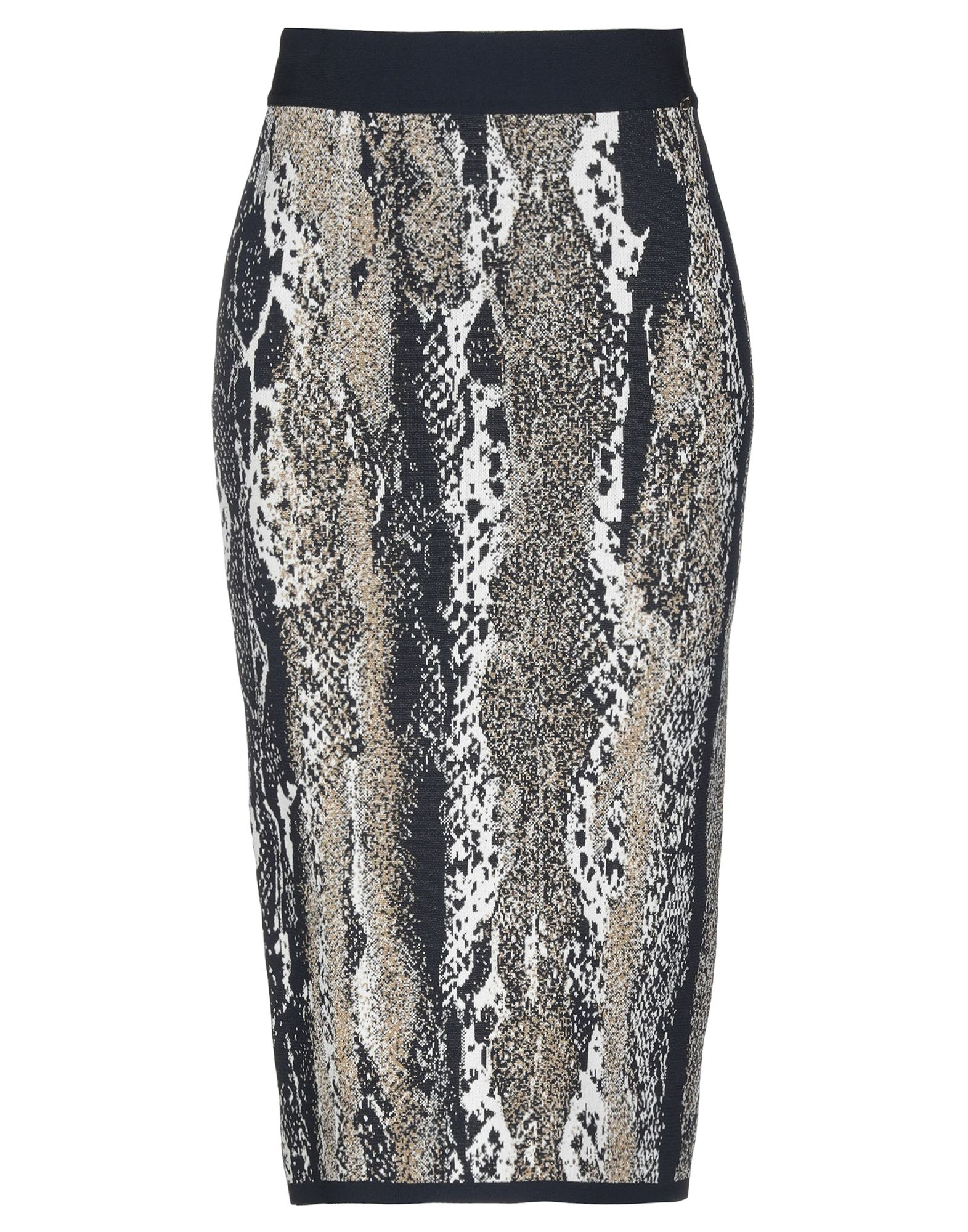 ANGELO MARANI Юбка длиной 3/4 printio юбка карандаш укороченная