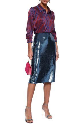 DIANE VON FURSTENBERG Sequined tulle skirt