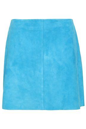 DIANE VON FURSTENBERG Suede mini skirt