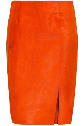 DIANE VON FURSTENBERG Calf hair skirt