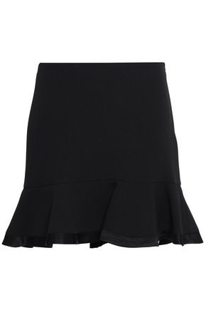 CLAUDIE PIERLOT Fluted crepe mini skirt