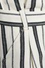 CLAUDIE PIERLOT Symphonie striped bouclé skirt