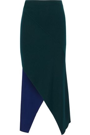 ROSETTA GETTY Asymmetric knitted skirt