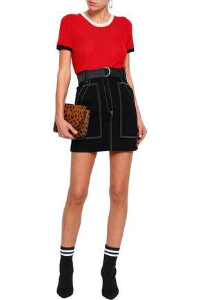 f3bb67d114c SANDRO Cotton-gabardine mini skirt