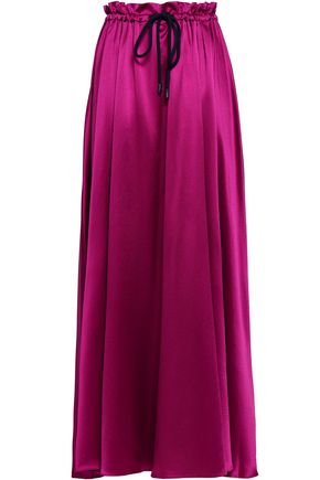 ROKSANDA Silk-satin maxi skirt