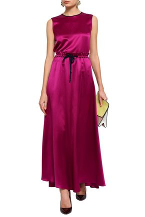 ROKSANDA Silk-satin maxi skirt