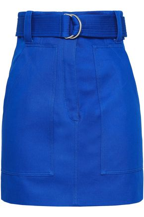 SANDRO | Sandro Cotton-Gabardine Mini Skirt | Goxip