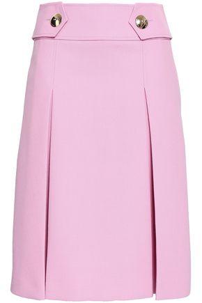 EMILIO PUCCI Pleated crepe skirt