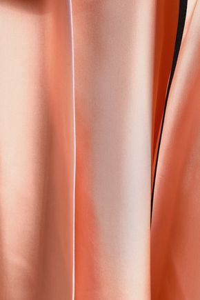 EMILIO PUCCI Pleated silk midi skirt