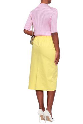 EMILIO PUCCI Cotton midi skirt