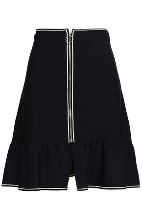 SANDRO Flared knitted mini skirt
