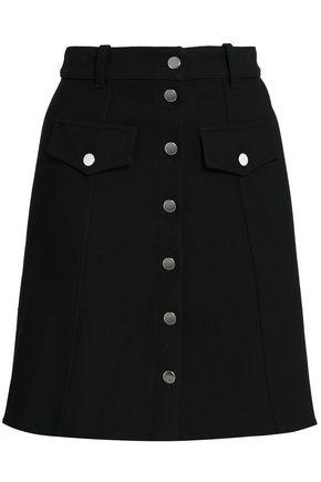 MAJE Crepe mini skirt