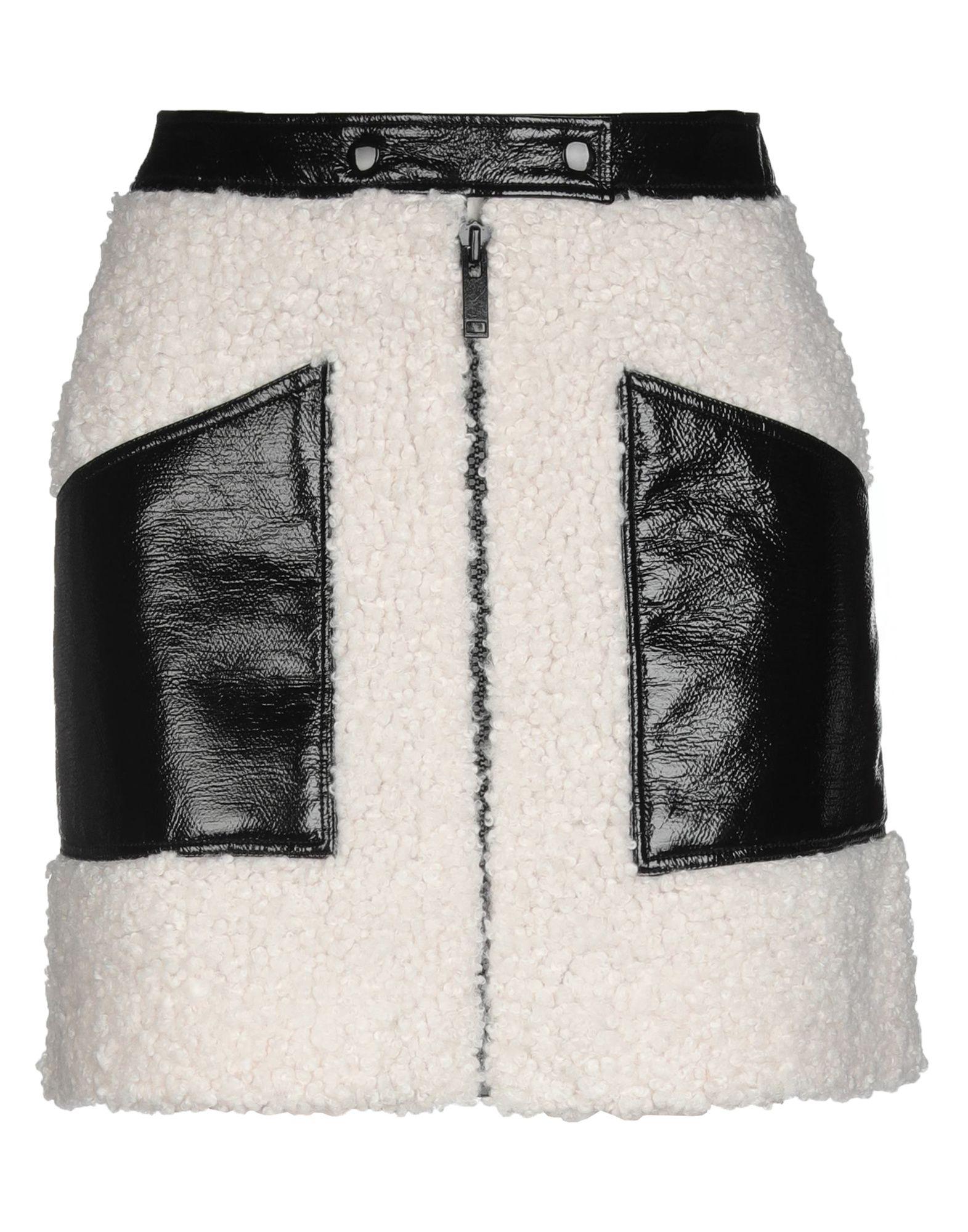 COURRÈGES Мини-юбка courrèges пальто