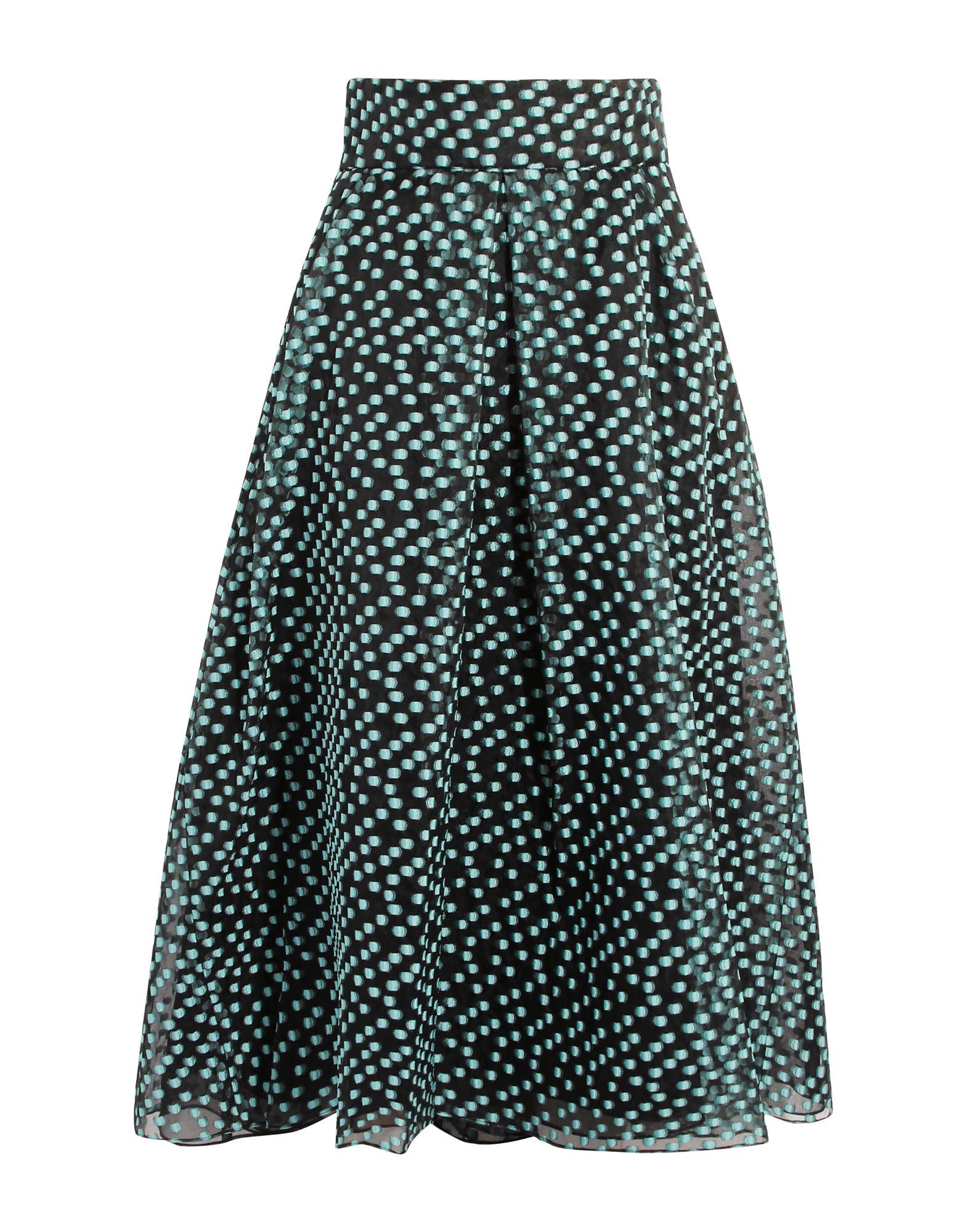 LELA ROSE Юбка длиной 3/4 lela rose юбка длиной 3 4