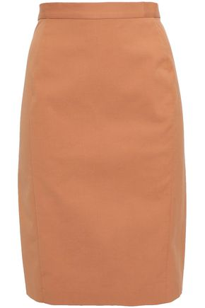 MISSONI Flared stretch-cotton mini skirt