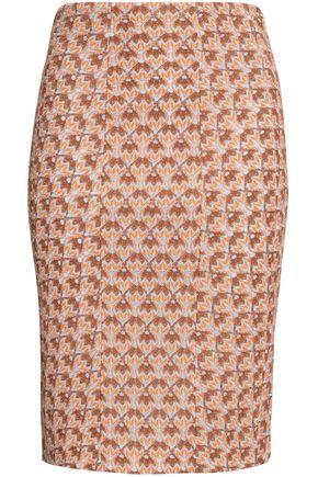 MISSONI Crochet-knit pencil skirt
