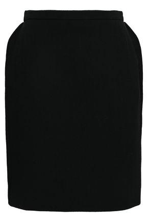 NINA RICCI Wool-blend mini skirt