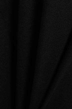 ZIMMERMANN Asymmetric frayed denim skirt