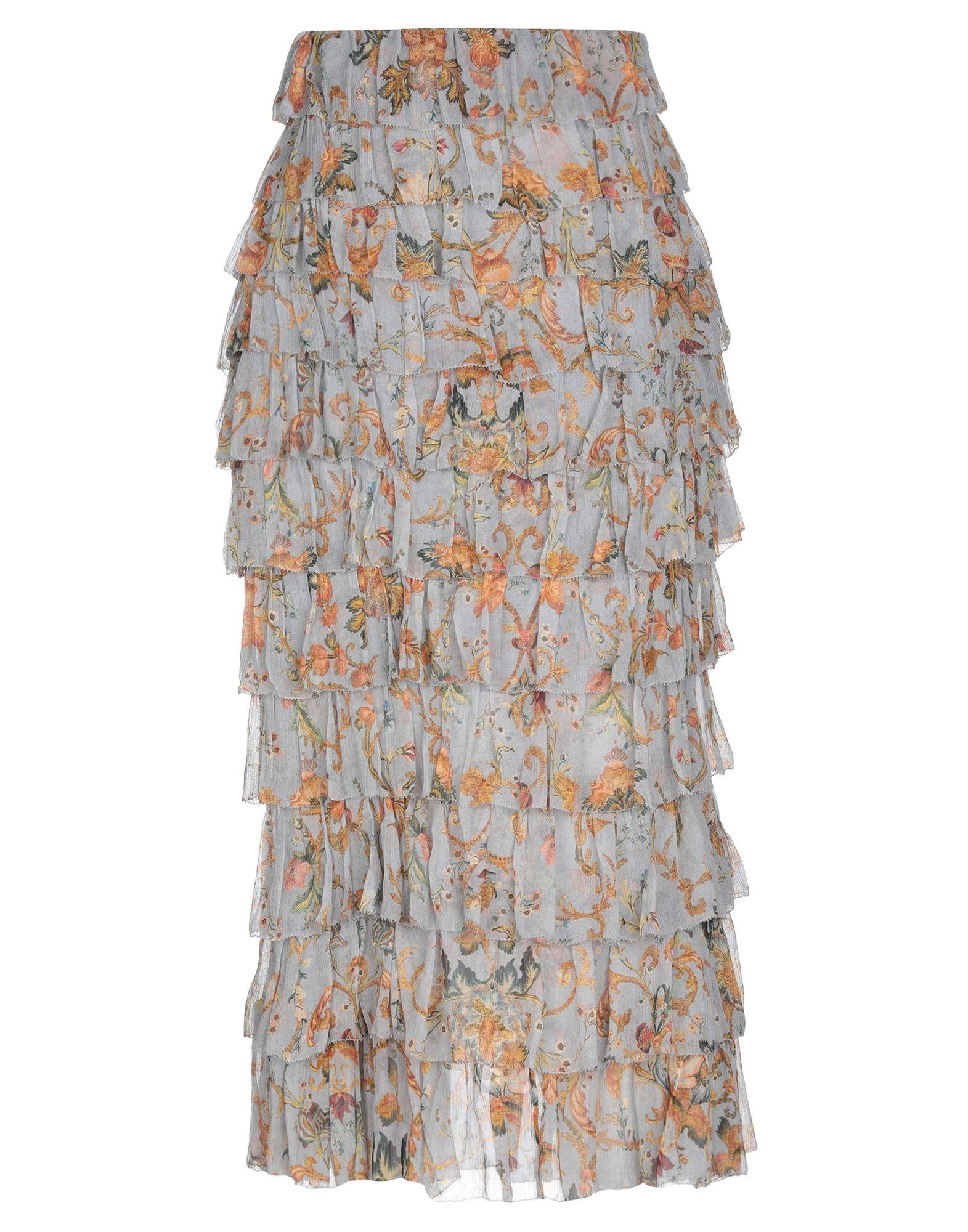 ZIMMERMANN Длинная юбка zimmermann юбка с воланами