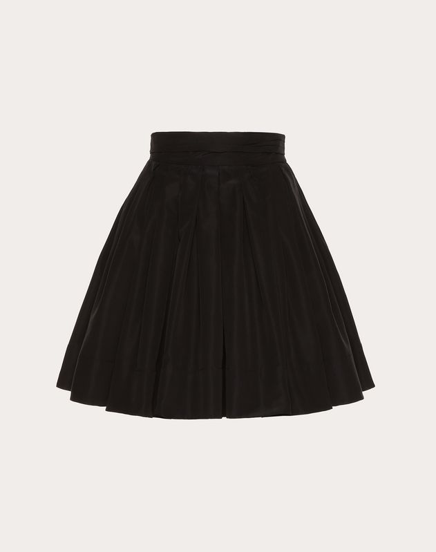 Micro Faille Skirt by Valentino