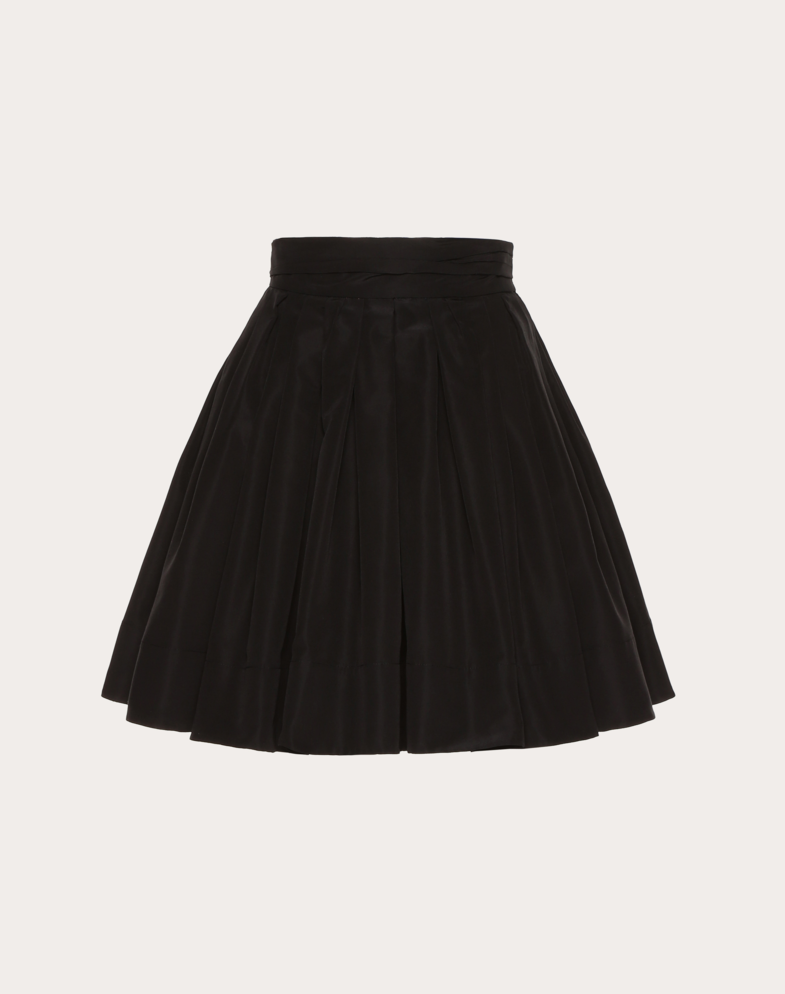 Micro Faille Skirt