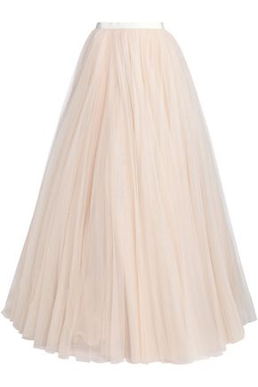 JENNY PACKHAM Flared tulle maxi skirt
