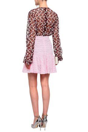 GIAMBATTISTA VALLI Broderie anglaise mini skirt