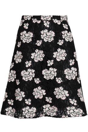 GIAMBATTISTA VALLI Guipure lace mini skirt