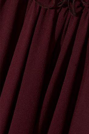 GIAMBATTISTA VALLI Silk-chiffon maxi skirt