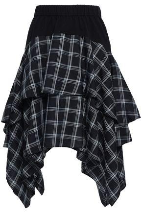 OPENING CEREMONY ティアード チェック ツイル スカート