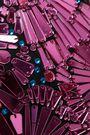 メゾン マルタン マルジェラ 装飾付きコットン&シルク混 ペンシルスカート