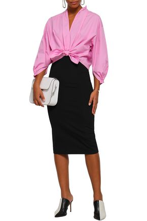 TOME Stretch-knit pencil skirt