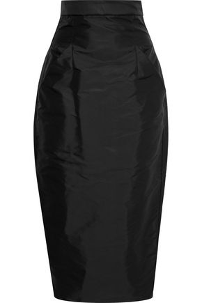 RICK OWENS Shell midi pencil skirt
